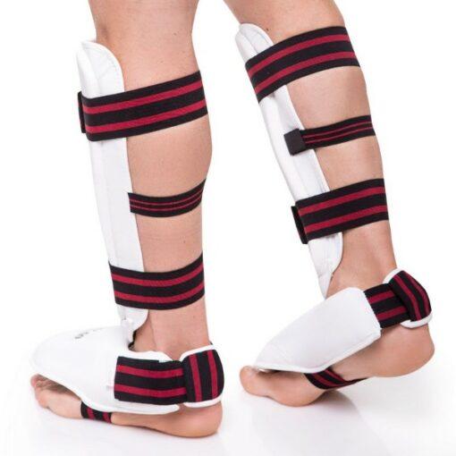 Защита голени с футами для единоборств DADO