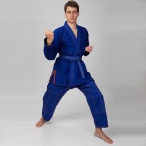 Кимоно для джиу джитсу синее